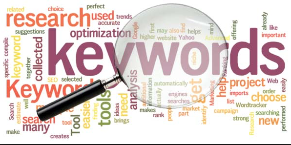 finding the write keywords